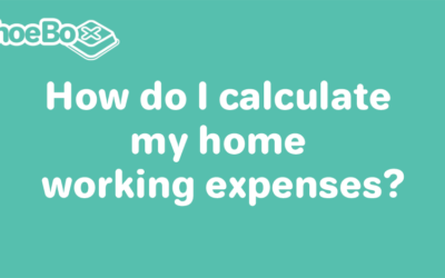 How do I calculate my home working expenses?